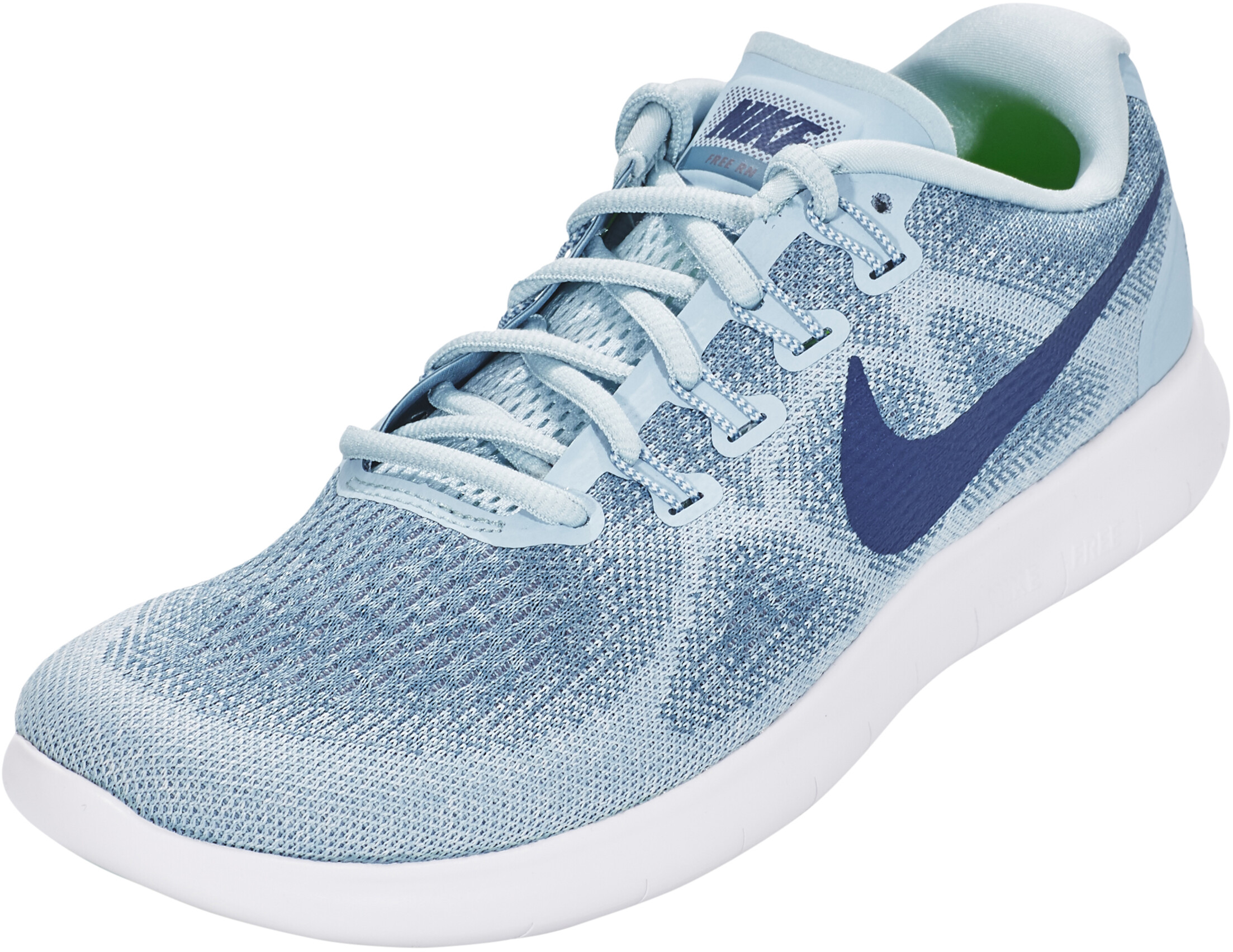 d77d556dbb98 Nike Free RN 2017 Running Shoes Women blue at Addnature.co.uk